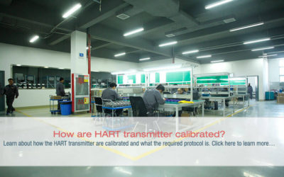 How are HART transmitter calibrated?