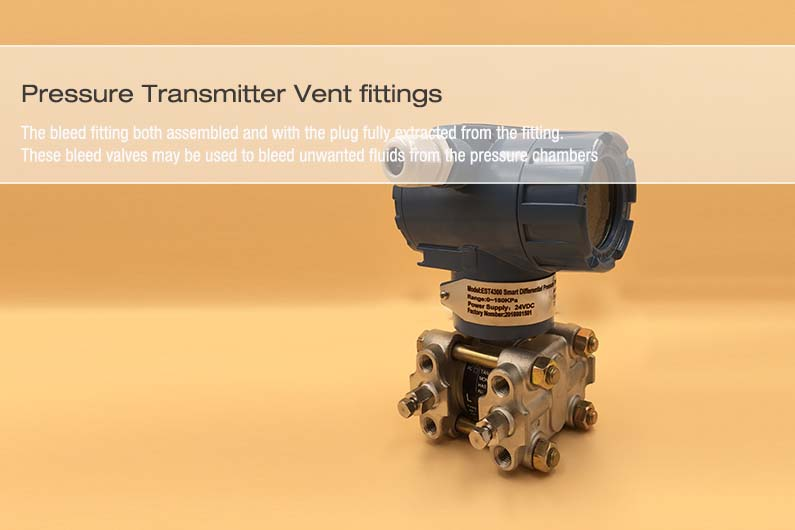 Pressure Transmitter Vent fittings