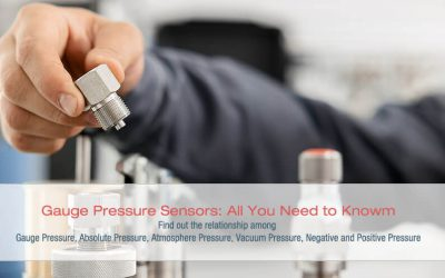 Gauge Pressure Sensors: All You Need to Know